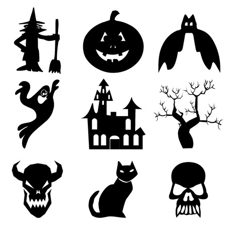 Halloween icons set great for any use.