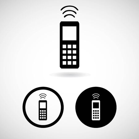 telephone icons: telephone icons great for any use.