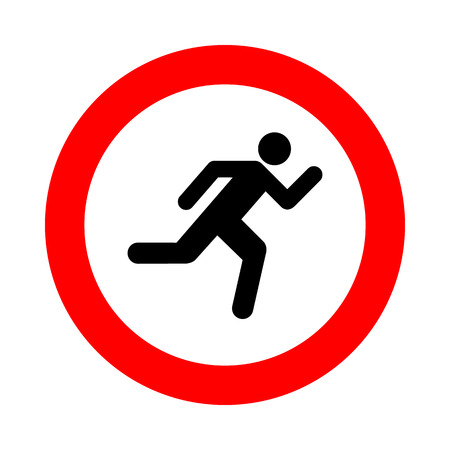 senda peatonal: paso de peatones icono grande para cualquier uso.