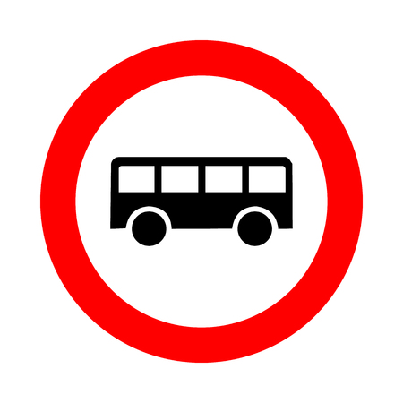 Bus icon great for any use. Vector  photo