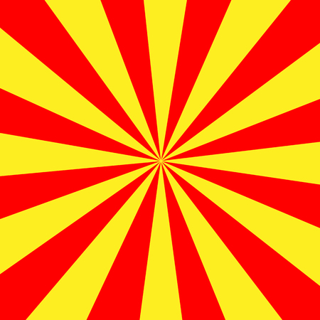 yellow shine: Red Yellow Shine Background icon great for any use. Vector Stock Photo
