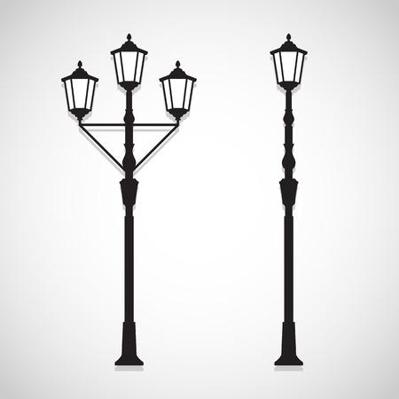 Uitstekende lamp iconen zijn ideaal voor elk gebruik. Vector EPS10. Stock Illustratie
