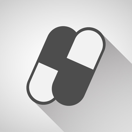capsules: Capsules icons set great for any use. Vector EPS10.