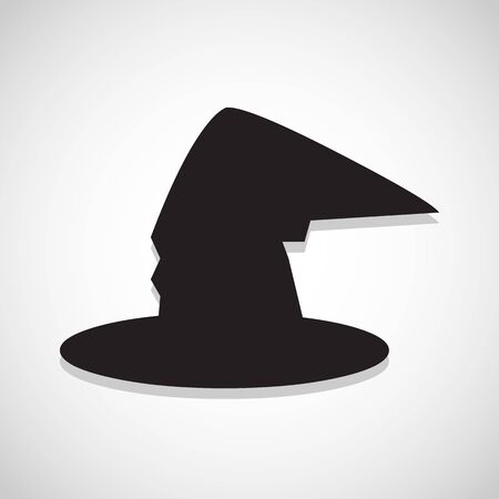 magic witch hat icon great for any use. Vector EPS10. Illusztráció