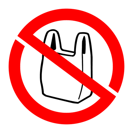 no bag icons set great for any use. Vector EPS10.