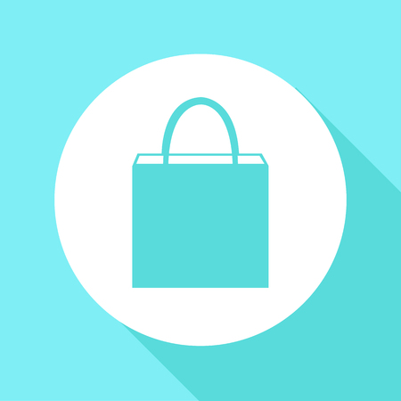 shopping bag icons set great for any use. Vector EPS10.