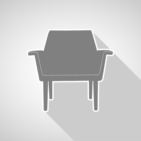 Sofa icon great for any use. Vector EPS10.
