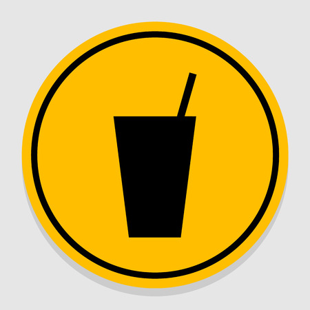 drinks  beverages icon great for any use. Vector EPS10.