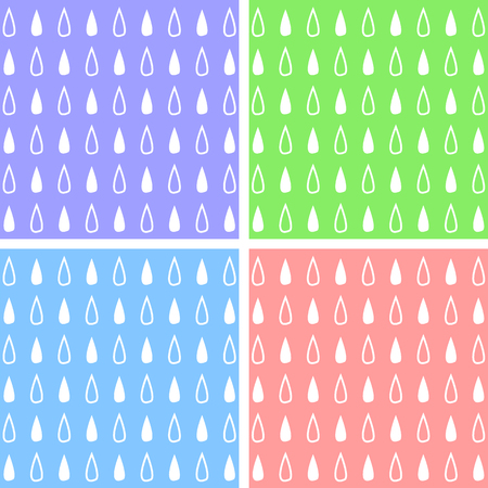 water drop icons set great for any use. Vector EPS10.
