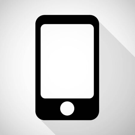 smartphone icon great for any use. Vector EPS10.