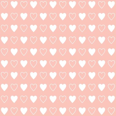 Heart pink background icon great for any use. Vector EPS10.