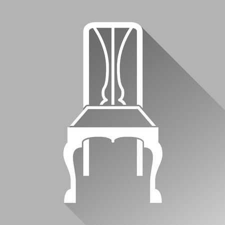 chair icon great for any use. Vector EPS10. Stock fotó - 48255523