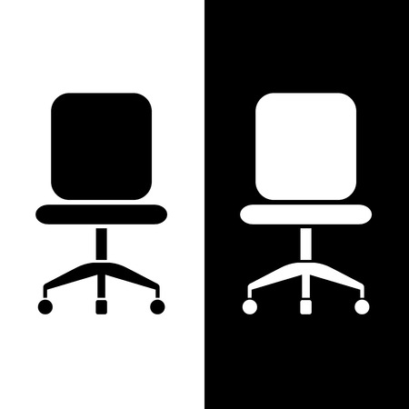 Chair icons set great for any use. Vector EPS10. Ilustrace
