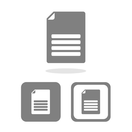 file icon great for any use. Vector EPS10.