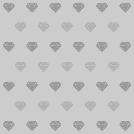 Dimond achtergrond icoon ideaal voor elk gebruik. Vector EPS10. Stock Illustratie