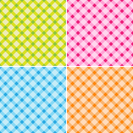 Pattern cross background set great for any use. Vector EPS10. Ilustrace