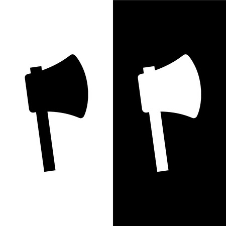 Axe icons set great for any use. Vector EPS10.
