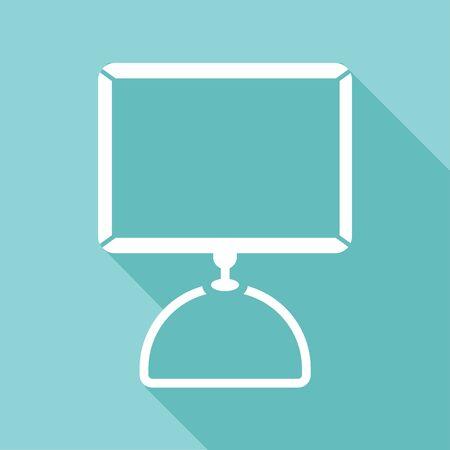 Computer icoon groot voor elk gebruik. Vector EPS10. Stockfoto - 48256500
