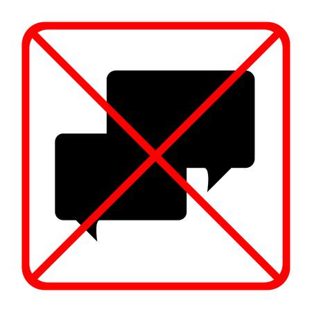 Geen kanalen pictogrammen die zeer geschikt voor elk gebruik. Vector EPS10.