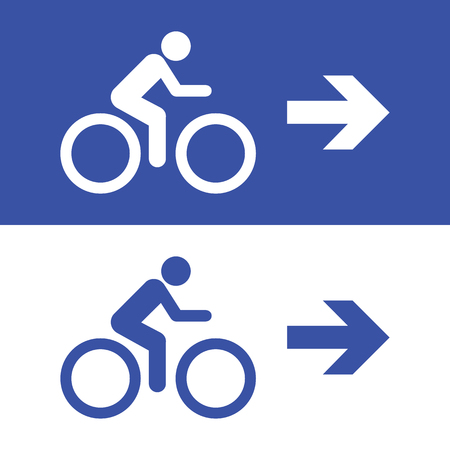 bicycle icon great for any use. Vector EPS10.