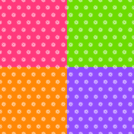 Flower background great for any use. Vector EPS10. Ilustrace