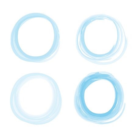 Pencil Drawing Circle Vector EPS10. Great for any use.