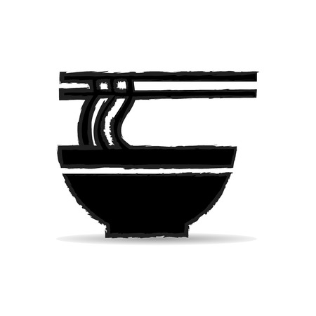 japanese cookery: asian, bowl, calories, cartoon, chinese, chopsticks, color, cookery, cuisine, design, diet, dining, dinner, eat, egg, flat, food, gourmet, hand, hawker, hold, icon, illustration, ingredient, isolated, japanese, line, lunch, meal, minimal, nature, noodle,
