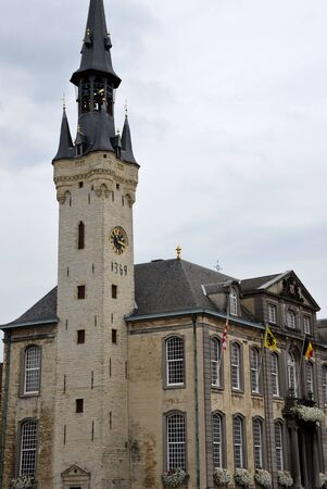 lier: City hall of Lier, Belgium  Stock Photo
