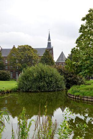 lier: Landscape in Lier, Belgium  Stock Photo