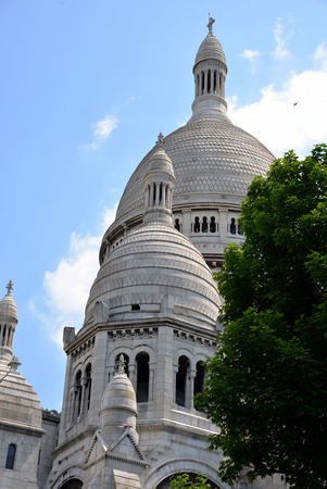 coeur: Sacre Coeur in Paris  Stock Photo