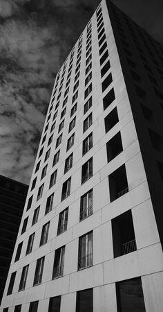 window view: Modern architecture in Antwerp