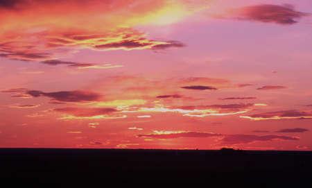 Sunset on the Plains