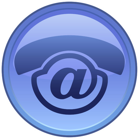 Creative icon for Voice-Mail service! Vector