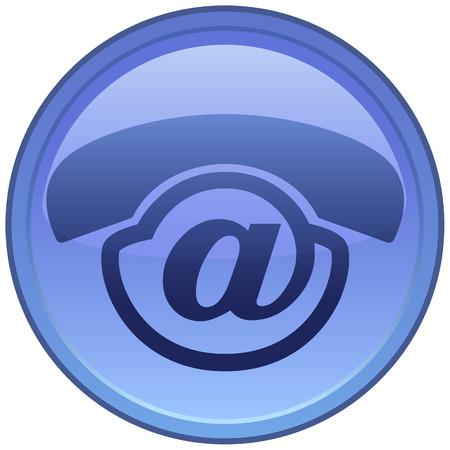 telecoms: Creative icona per il Voice-Mail servizio!