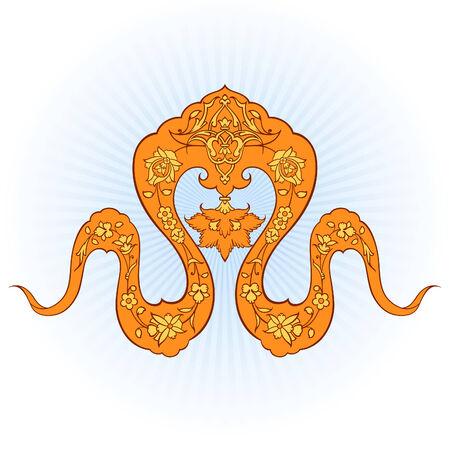 iran: Decorative Persian design!