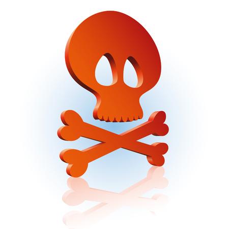 horrid: Skull and cross bones icon!