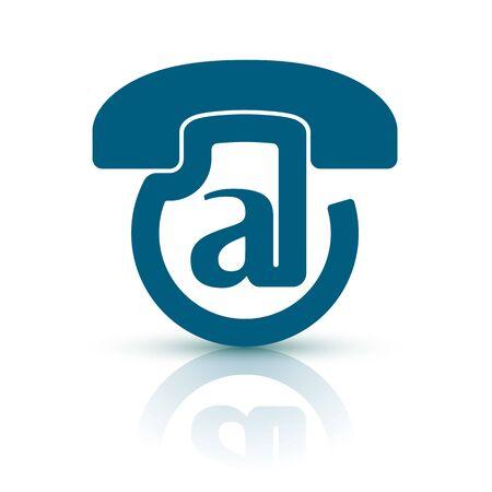 telecoms: VoiceMail. Design unico e creativo per la tecnologia di voicemail! Vettoriali