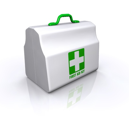medical box: First Aid Kit Illustration