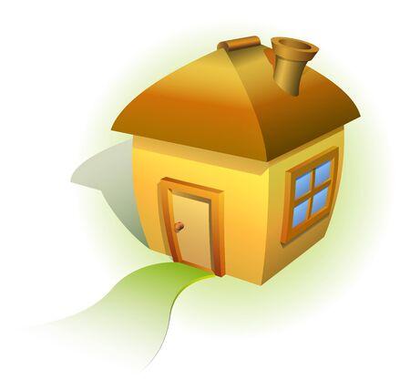 Comic house! Stock Vector - 10679299
