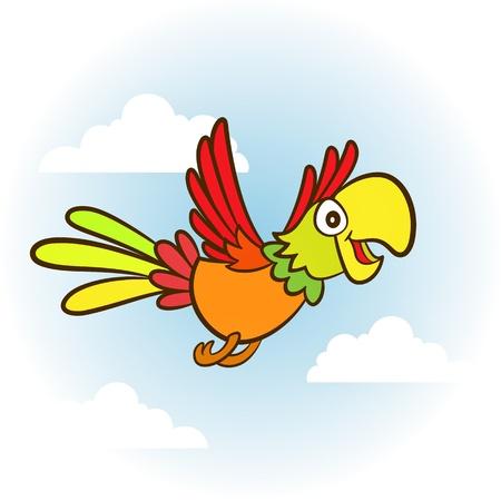 talker: parrot Illustration