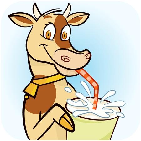 alimentos y bebidas: A tomar leche fresca de vaca