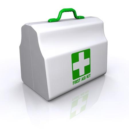 emergencia medica: Kit de Primeros Auxilios del paquete