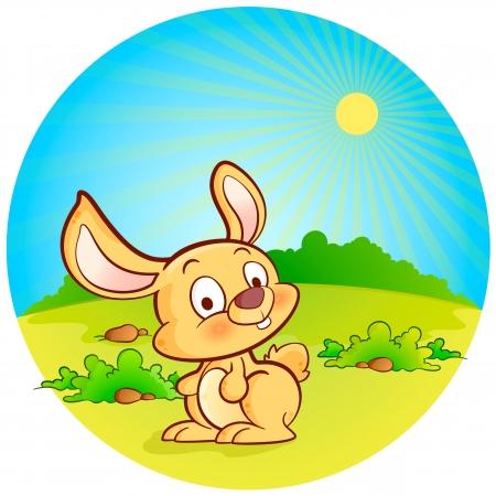 easter island: Easter Bunny