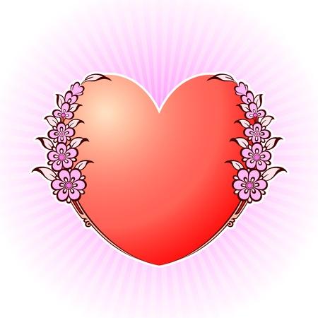Heart Stock Vector - 18087783