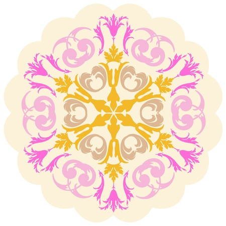 Vector of traditional Persian-Arabic-Turkish-Islamic Pattern  Stock Vector - 19089733