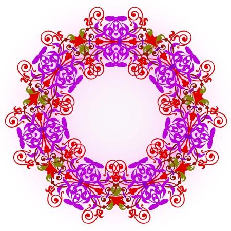 Vector of traditional Persian-Arabic-Turkish-Islamic Pattern Stock Vector - 19089736