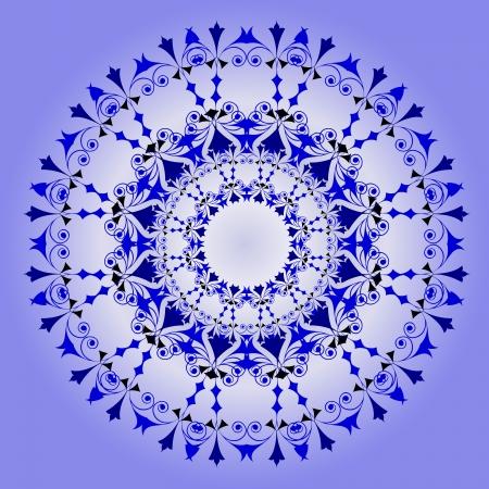 Vector of traditional Persian-Arabic-Turkish-Islamic Pattern Stock Vector - 19089747