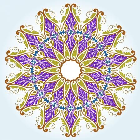 Vector of traditional Persian-Arabic-Turkish-Islamic Pattern Stock Vector - 19089735