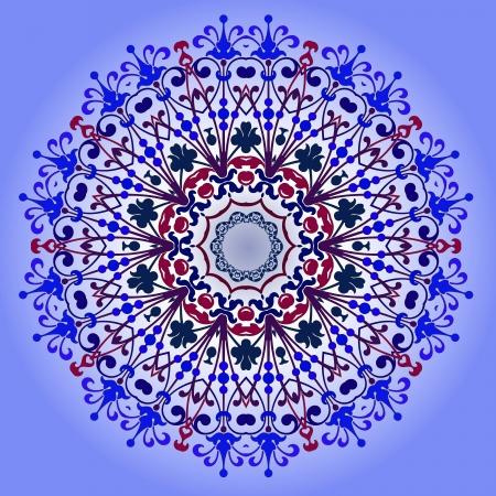 Vector of traditional Persian-Arabic-Turkish-Islamic Pattern Stock Vector - 19089739
