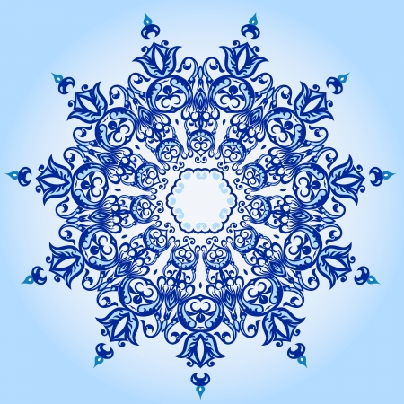 ashta: Vector of traditional Persian-Arabic-Turkish-Islamic Pattern